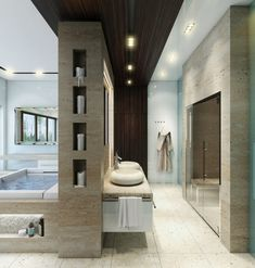 Modern Bathroom Design Ideas turn to the vanity to introduce wooden element into the modern bathroom Bathroom Bathroom Vanity Cabinet Design For Modern Bathroom Design Ideas With Bathroom Ceramic Tile Floor