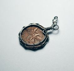 wire wrapped coin