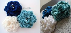 Embellish an item with this crocheted crocodile stitch flower to give it a floral and vibrant look. Suitable for beginners. Get the FREE crochet pattern ...