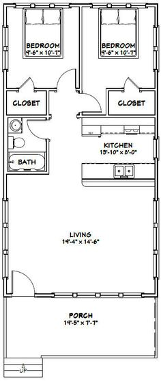 single wide mobile home floor plan 756CT Straw Bale Small Houses - copy garage blueprint maker