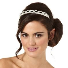 Jon Richard Grace tiara- at Debenhams.com  Perfectly simple #mydreamwedding