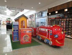 Passeio de trenzinho no Shopping Taboão agita a criançada | Jornalwebdigital
