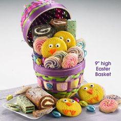 Egg Bakery Easter Basket. Yum!!