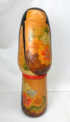"AE9 Vintage Sosaku Kokeshi by Ishimura 14"" | eBay"