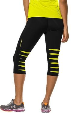 Under Armour Heat Gear® Slash Capris ~ keeping cool when your workout is hot! #4XHealthier