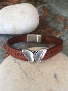 armband, fjäril
