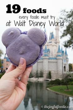 19 foods you MUST try at Walt Disney World, plus which foods to avoid!