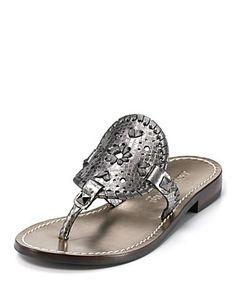 Jack Rogers Sandals - Georgica Flat Thong Sandals | Bloomingdale's