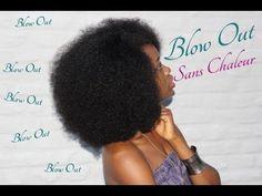 Coiffure Cheveux Crépus | Blow Out Sans Chaleur Blow Out Sans Chaleur