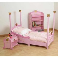 Design A Dream Bedroom For Your Toddler With Finest Toddler Beds! Toddler Princess Room, Disney Princess Room, Little Princess, Toddler Bunk Beds, Toddler Rooms, Childrens Rooms, Baby Doll Bed, Doll Beds, Castle Bed