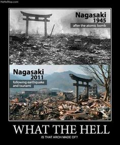 let's make everything in Nagasaki out of that.