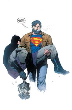 Batman superman and. the joker (Batman-last knight on earth Batman Kunst, Batman Art, Batman And Superman, Batman Robin, Joker Batman, Batman Arkham, Superman Beard, Comic Books Art, Book Art