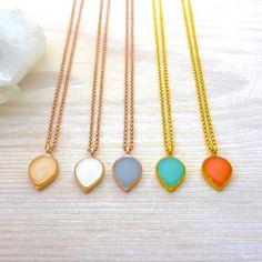 Teardrop Ring, Teardrop Necklace, Dangle Earrings, Bangle Bracelets, Necklaces, 1 Rose, Matching Rings, Wedding Earrings, Rose Gold Plates