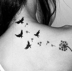 Imagem de tattoo, bird, and tatoo