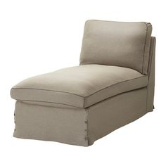 chaise lounge chairs for bedroom ikea | EKTORP Cover free-standing chaise lounge IKEA The cover is easy to ...