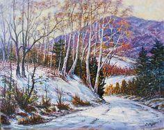 Winter Sun, Framed Prints, Canvas Prints, Joseph, Tapestry, Fine Art, Artist, Artwork, Poster