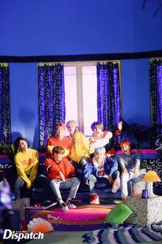❤️ [DISPATCH] #BTS @ <DNA> MV filming site ~❤️✨