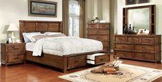 Baddock 5 PC Bedroom Set by Furniture of America