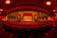 An empty theater | Image source: Kelbymediagroup.com
