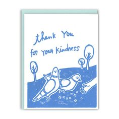 Thank You For Your Kindness Card