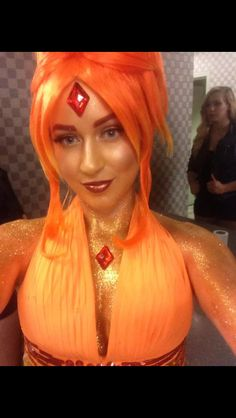 Flame princess Cosplay it's so awesome!!!!