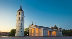 Vilnius, Lithuania. Immigration to EUROPE. come to live in Europe and do excellent business in EUROPEAN UNION.  www.euromig.com Hold A Meeting, Cathedral Basilica, Social Well Being, Living In Europe, Lithuania, Fresco, Castle, Mansions