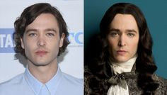 The amazing Alexander Vlahos & as Monsieur Philippe Duc D'Orleans in the Canal+ series Versailles
