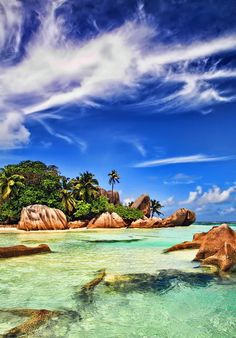 La Digue, Seychelles Islands