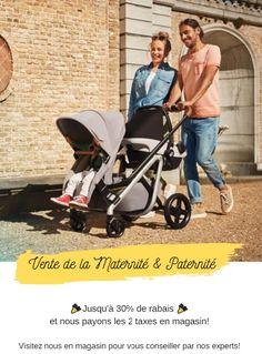 Épargnez chez Bébé Dépôt Plus pendant notre vente de maternité et paternité et conseillez vous par nos experts sur place! Place, Baby Strollers, Children, Baby Store, Ring Sling, Bebe, Baby Prams, Young Children, Boys