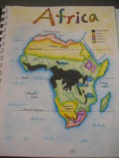 Map of Africa | par caeriefaerie