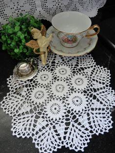 Toca do tricot e crochet: toalhinha de crochet