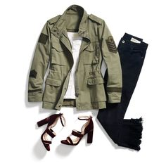 Stitch Fix September Trend Love that military jacket! I already own a cargo vest in a taupe color