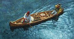 canoe voyageurs