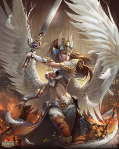 Arinna by yuchenghong on deviantART. For more fantasy art, visit - http://digitalart.io/digital-art/fantasy/