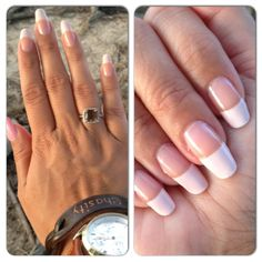 My natural nails FRENCH MANICURE!!!