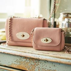 The New Romantics - discover Rose Petal new arrivals on mulberry.com.