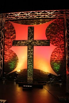 That Old Rugged Cross | Church Stage Design Ideas