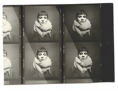 Love this contact sheet.  See more amazing analog photography by: http://www.markpeckmezian.com/