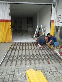 Service Folding Gate bintaro tlp. 089633665538