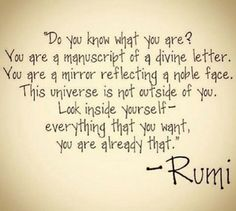 Do you know what you are?