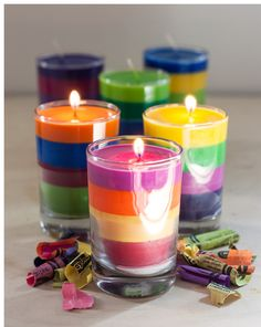 """Hope you like this as much as I do! """"ultimate crayons candles♥♥"""""""