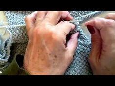 Come cucire la manica alla maglia con il punto invisibile (rimagliatura)