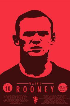 Wayne Rooney on Behance