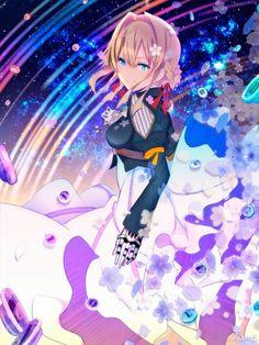 Kawaii Anime, Manga Anime, Violet Evergreen, Violet Garden, Violet Evergarden Anime, My Little Pony Drawing, Otaku, Beautiful Anime Girl, Anime Art Girl