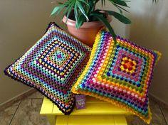 Crochet Pillow Cases, Crochet Cushion Cover, Crochet Cushions, Crochet Baby Dress Pattern, Afghan Crochet Patterns, Crochet Stitches, Crochet Doilies, Crochet Flowers, Cushion Embroidery