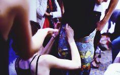 BACKSTAGE SIMON ALBO  FASHION SHOW S/S 2015 HILTON.PARIS.         #simonalbo #ss15 #fashion #hats #couture #fashiondesigner #mode #lookbook #dress #eveningdress #model #simon #albo #collection #feather #highfashion #style #shooting #highart #newfashion #beauty #fashionwebsite #modeaparis