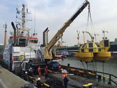 Dutch Marine Contractors successfully completed the turn key installation of a new LiDAR Buoy