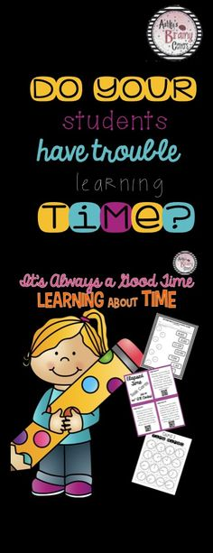 Telling time will be no problem with this resource! Students will practice telling time on analog clocks, digital clocks, converting time, elapsed time task cards with qr codes, worksheets, centers