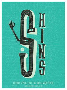 The Shins gig poster