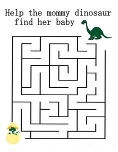 A printable PDF file with 10 simple mazes, one per page